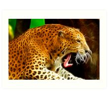 The Yawn Art Print