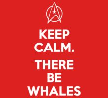 Keep Calm. There Be Whales by Buleste