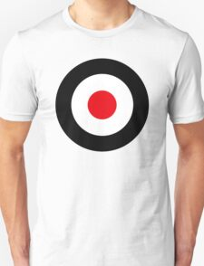 Black Red MOD - Vespa T-Shirt