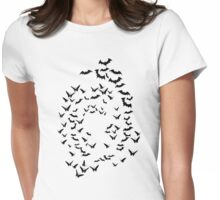 bats & butterflies  Womens Fitted T-Shirt
