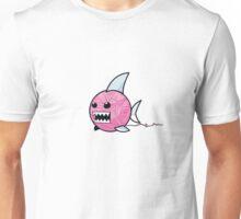 Yarn shark (pink) Unisex T-Shirt