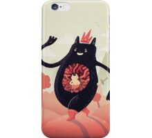 King eats King iPhone Case/Skin