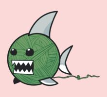 Yarn shark (green) Kids Clothes
