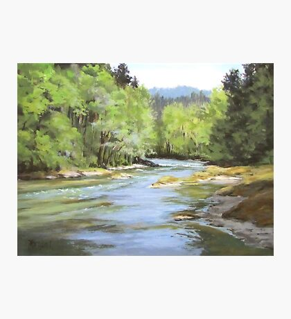 Little River Morning Photographic Print