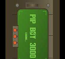 Pip-Boy 3000 Phone Case by Colin Doyle