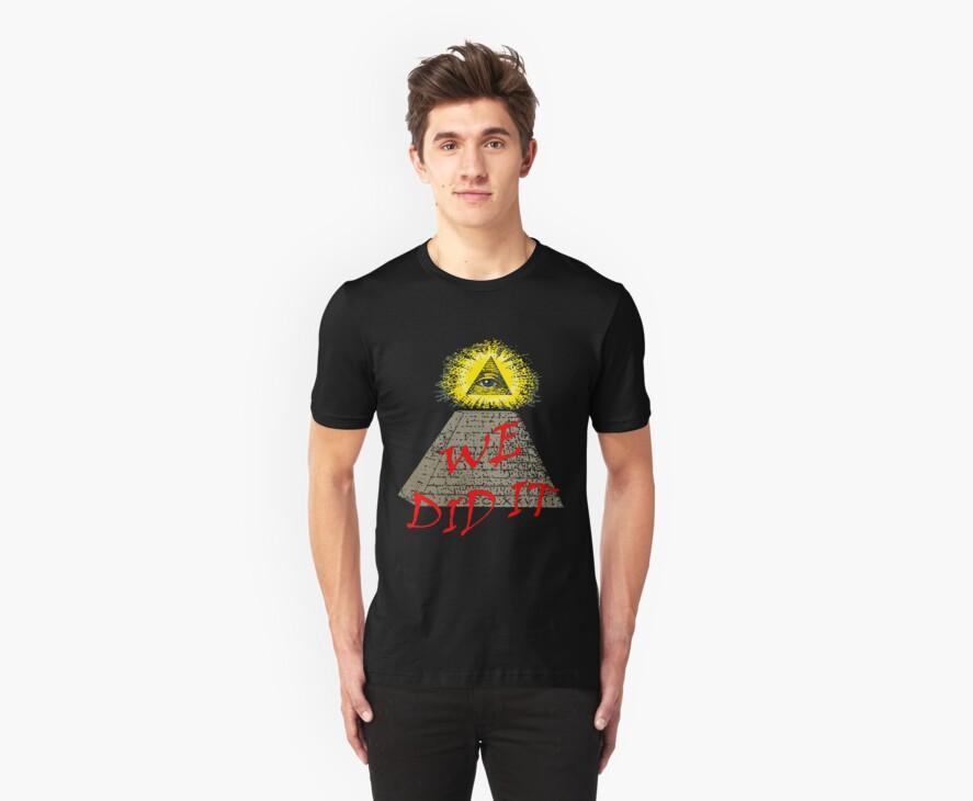 we did it (illuminati) by IanByfordArt
