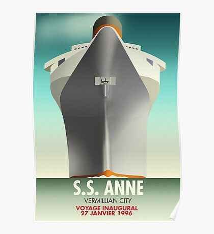 SS Anne Poster