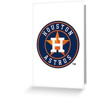 huoston astros Greeting Card