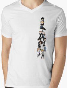221B BAKERSTREET Mens V-Neck T-Shirt