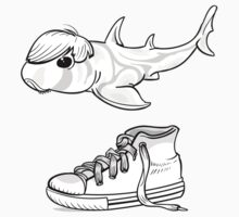 Bieber shark One Piece - Long Sleeve