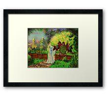 Hobbit home Framed Print