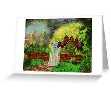 Hobbit home Greeting Card
