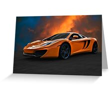 McLaren Greeting Card