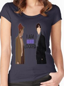 I AM WHOLOCKED Women's Fitted Scoop T-Shirt