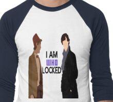 I AM WHOLOCKED Men's Baseball ¾ T-Shirt