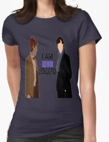 I AM WHOLOCKED Womens Fitted T-Shirt
