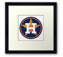 huoston astros Framed Print