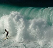 Surfer Ready For The Big Crunch by Bob Christopher