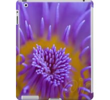 Water lily abstract iPad Case/Skin