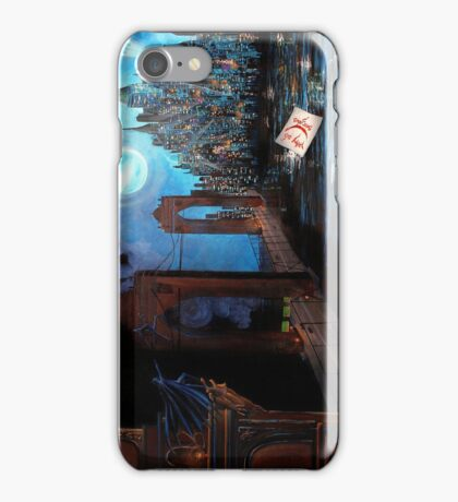 Watching over Gotham iPhone Case/Skin