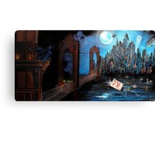 Watching over Gotham Canvas Print