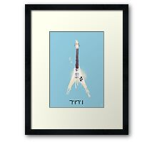 His Weapon Framed Print