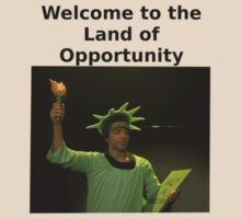 Dave - Flight of the Conchords, Statue of Liberty 'Land of Opportunity' by hungrypeople