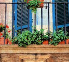 Garden Above-Italy Sticker