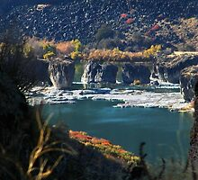 Pillar Falls, Snake River Canyon - Twin Falls Idaho by Jeff Pierson