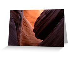 Lower Antelope Canyon Greeting Card