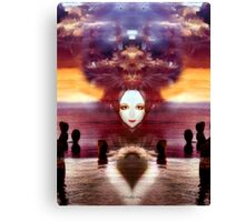 Between earth and sky Canvas Print