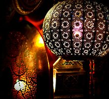 Marrakech Souk - lamps by Jackie Barefield