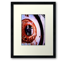 The Weight of Time (pt 1) Framed Print