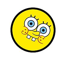 Funny Kid Face Photographic Print