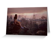 Paris Paris Greeting Card