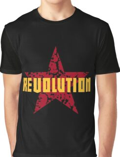 Revolution (Red Star) Graphic T-Shirt