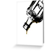 The Very Last Drop...  Greeting Card