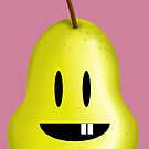 Silly Pear! by Luiz  Penze