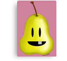 Silly Pear! Canvas Print