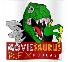 The Moviesaurus Rex Podcast Logo Poster
