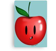 Silly Apple! Canvas Print