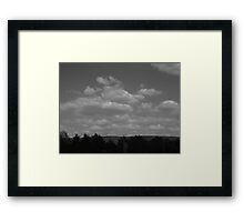 Clouds&Wind Framed Print