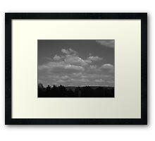 Clouds&Wind Framed Print