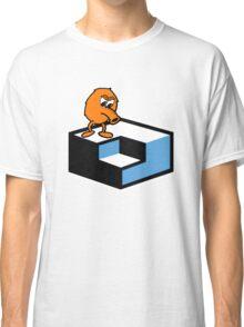 Q*Bert Skateboarding Classic T-Shirt