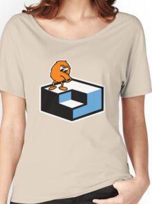 Q*Bert Skateboarding Women's Relaxed Fit T-Shirt