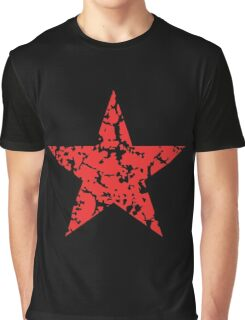 Red Star Vintage Graphic T-Shirt