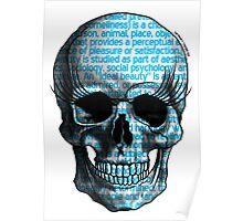 Beauty skull! Poster