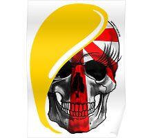 Blond skull! Poster
