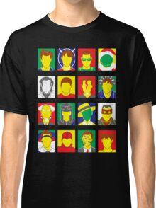 Faces of Carrey Classic T-Shirt