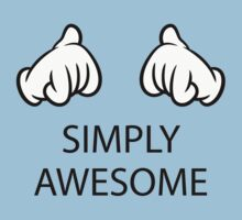 Simply Awesome (Hands / Pos) Kids Clothes
